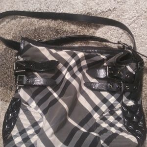 Authentic nova check Burberry Bag